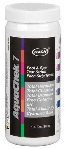 aquachek test strips 551236