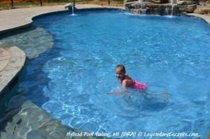 BRN Swimming Child