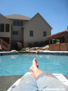 pool guy feet