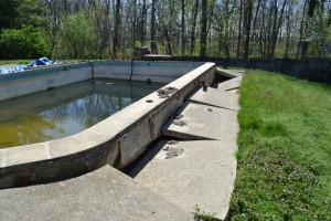 gunite pool pop out