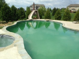 Why does everyone assume a green pool means algae what - What causes low ph in swimming pools ...
