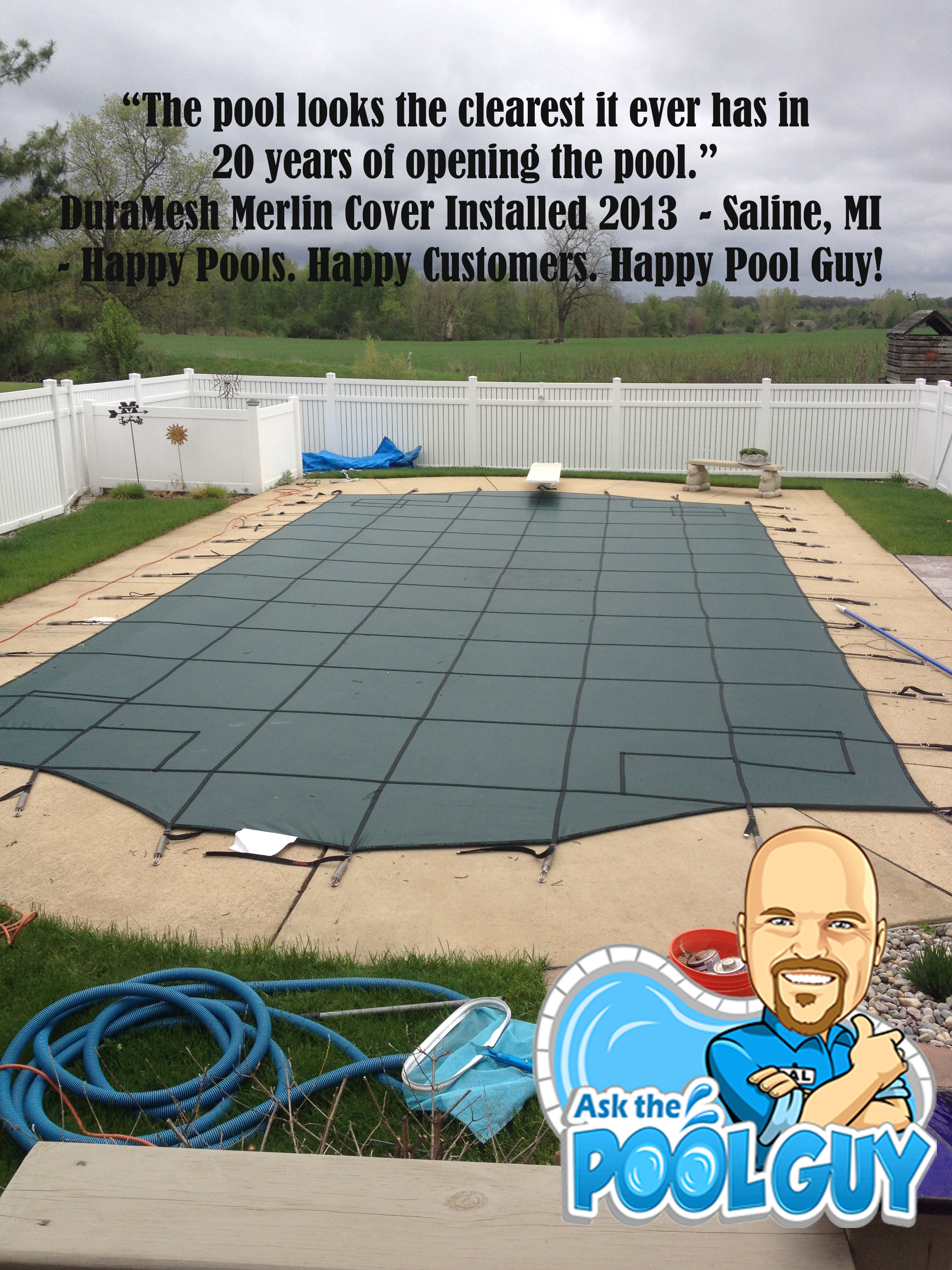 Merlin Safety Covers Pool Guy Recommended Ask The Pool Guy