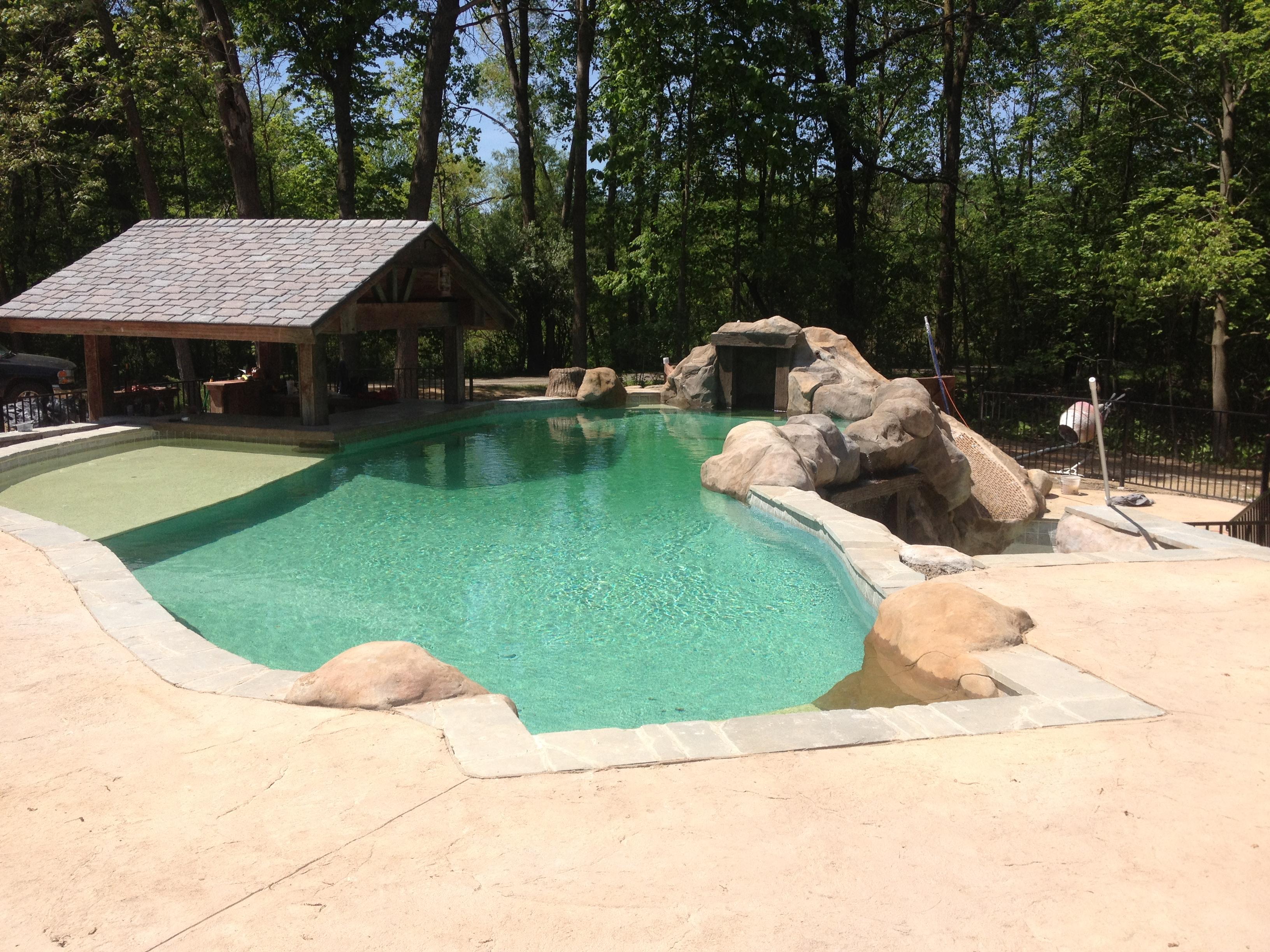 This Is Algae Hybrid Pool {HOF} Green Water
