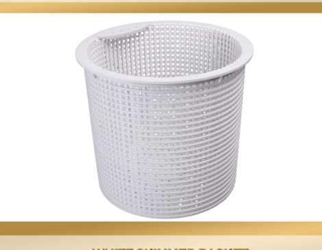 Kafko equator skimmer basket white 19 0163 1 ask the - Swimming pool skimmer basket covers ...