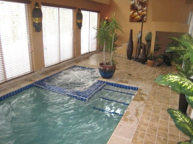 Dean Indoor Gunite Pool and Spa Southfield 2011 by Legendary Escapes Pools. THM