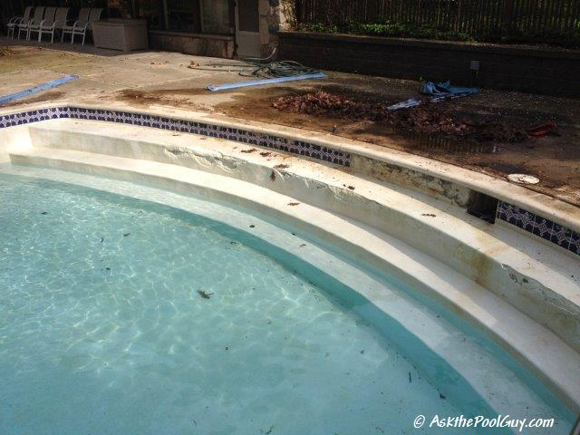 Not-So-Fun Tile Repair – Ask the Pool Guy