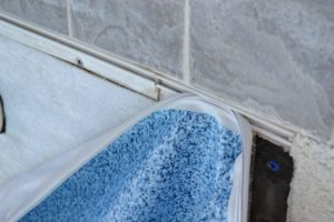 TruTile Vinyl Liner with Ceramic Tile