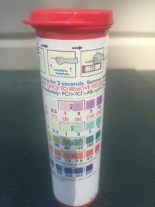 InstaTest Test Strip Bottle