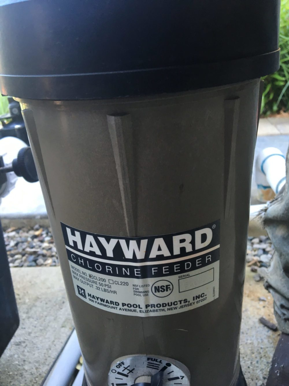 hayward, cl200
