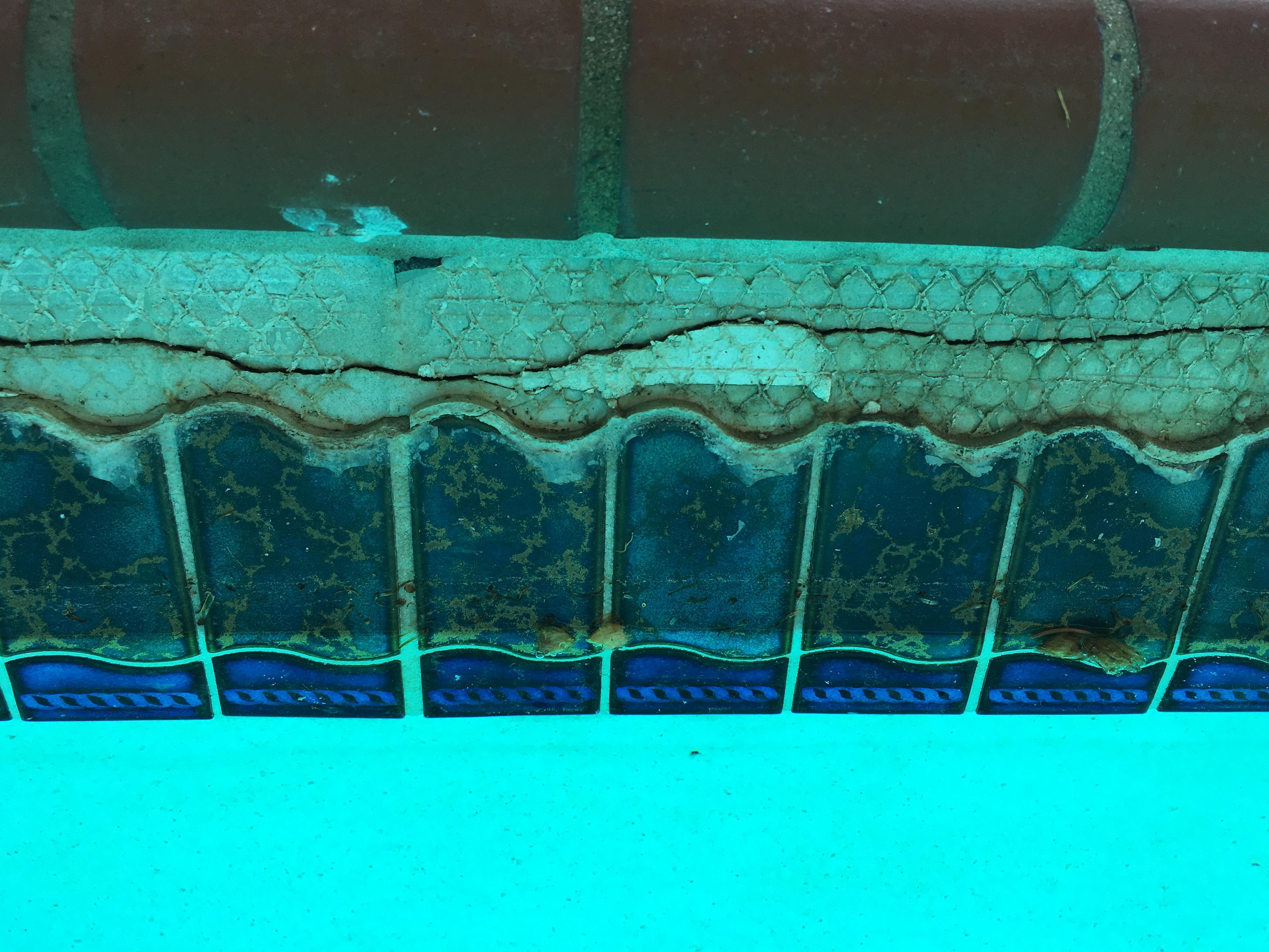 Gunite Pool Beam Shear Tile Reno 1 Ask The Pool Guy