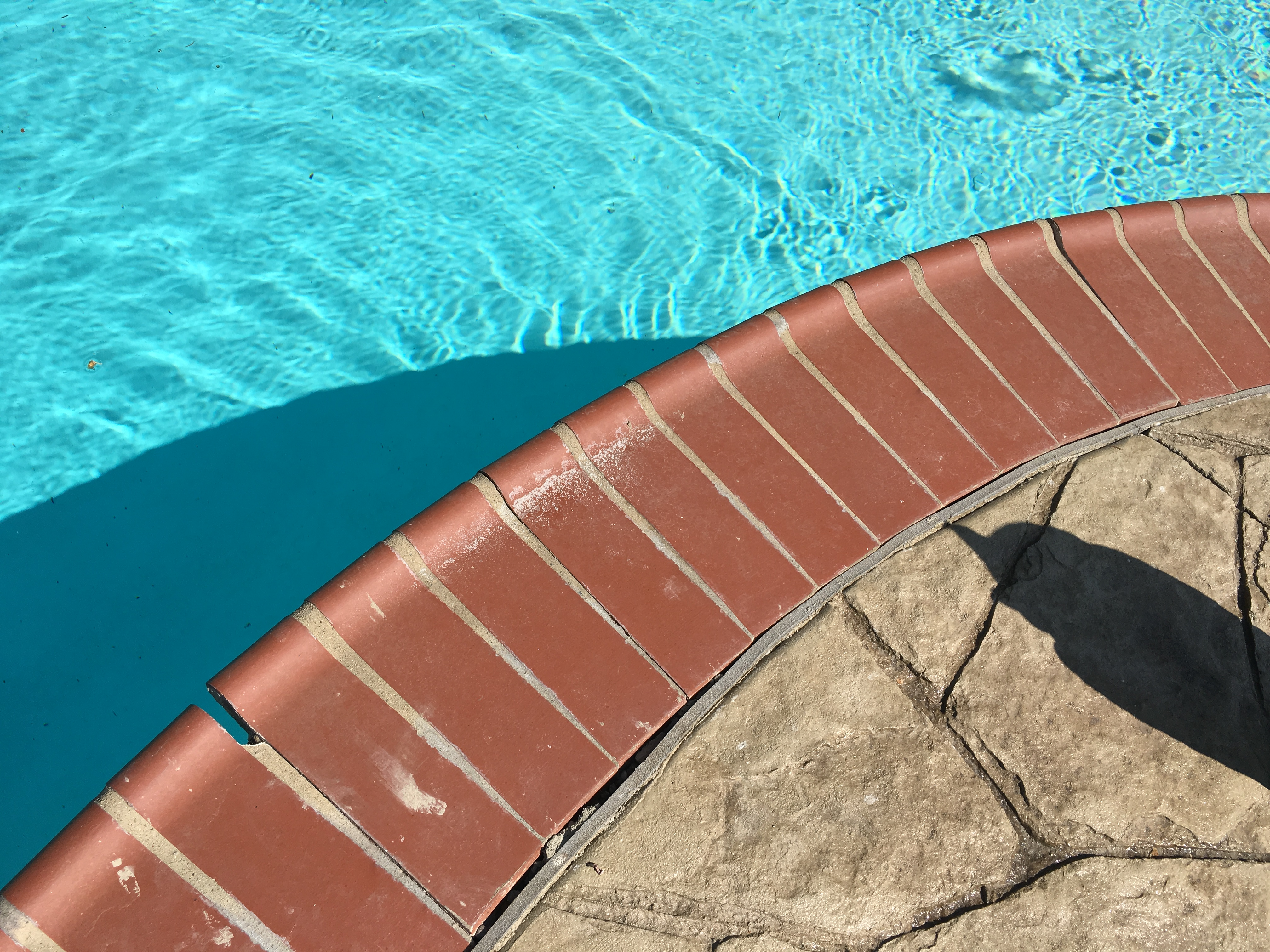 Expansion Joint Caulk On A Swimming Pool Why