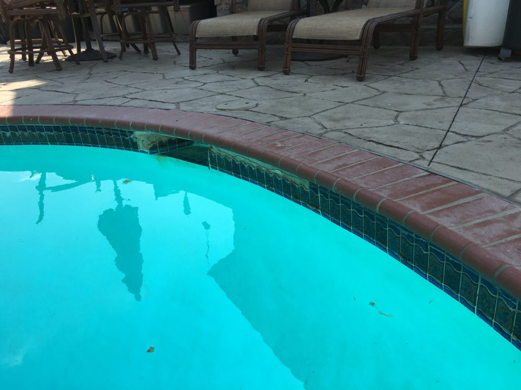 What Horizontal Cracking Means in your Swimming Pool Tile Line – Ask ...