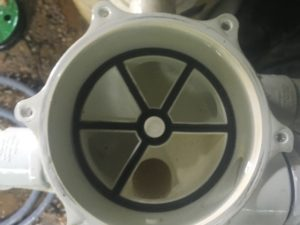 multiport spider gasket