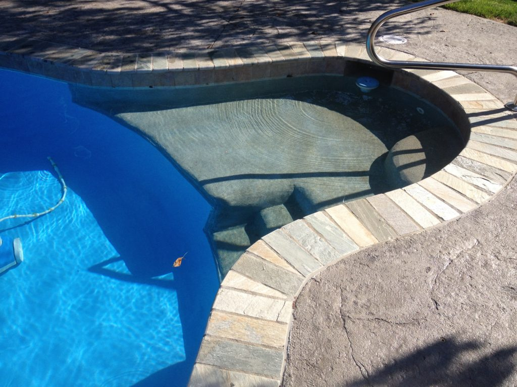 Renovation Sunledge Added To Vinyl Liner Pool Ask The Pool Guy